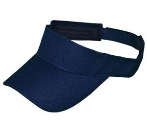 Navy Blue Nose Free Glasses Hat - Visor